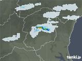 2020年05月27日の栃木県の雨雲レーダー