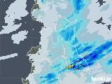 2020年05月27日の青森県の雨雲レーダー