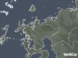 2020年05月28日の佐賀県の雨雲レーダー