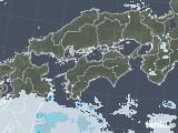 2020年05月30日の四国地方の雨雲レーダー