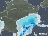 2020年05月31日の徳島県の雨雲レーダー