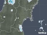 2020年05月31日の宮城県の雨雲レーダー