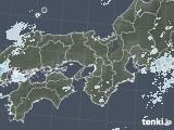 2020年06月01日の近畿地方の雨雲レーダー
