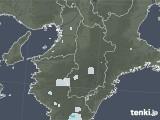 2020年06月01日の奈良県の雨雲レーダー