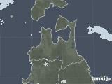 2020年06月01日の青森県の雨雲レーダー