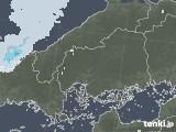2020年06月02日の広島県の雨雲レーダー