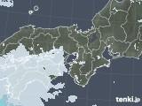 2020年06月03日の近畿地方の雨雲レーダー