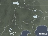 2020年06月03日の山梨県の雨雲レーダー