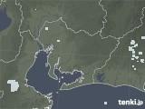 2020年06月03日の愛知県の雨雲レーダー