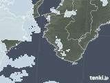 2020年06月03日の和歌山県の雨雲レーダー