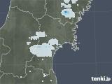 2020年06月03日の宮城県の雨雲レーダー