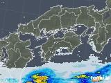 2020年06月04日の四国地方の雨雲レーダー
