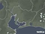 2020年06月04日の愛知県の雨雲レーダー