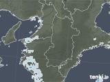 2020年06月04日の奈良県の雨雲レーダー