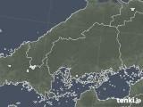 2020年06月04日の広島県の雨雲レーダー