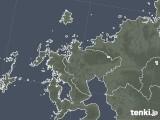 2020年06月04日の佐賀県の雨雲レーダー