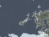 2020年06月04日の長崎県(五島列島)の雨雲レーダー