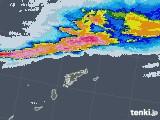 2020年06月04日の鹿児島県(奄美諸島)の雨雲レーダー