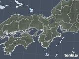 2020年06月05日の近畿地方の雨雲レーダー