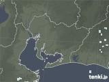 2020年06月05日の愛知県の雨雲レーダー