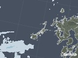 2020年06月05日の長崎県(五島列島)の雨雲レーダー