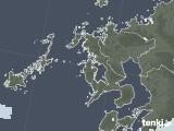 2020年06月05日の長崎県の雨雲レーダー