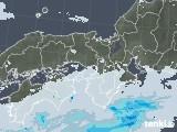2020年06月06日の近畿地方の雨雲レーダー