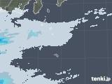 2020年06月06日の東京都(伊豆諸島)の雨雲レーダー