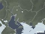 2020年06月06日の愛知県の雨雲レーダー