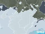2020年06月06日の奈良県の雨雲レーダー