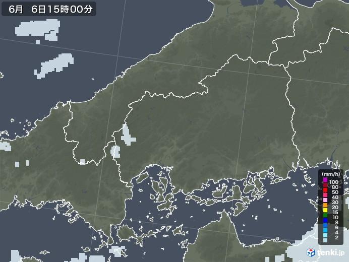 広島天気 雨雲レーダー