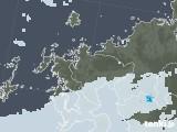 2020年06月06日の佐賀県の雨雲レーダー