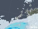 2020年06月06日の長崎県(五島列島)の雨雲レーダー