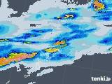 2020年06月06日の鹿児島県(奄美諸島)の雨雲レーダー