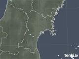 2020年06月06日の宮城県の雨雲レーダー
