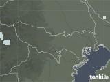 2020年06月07日の東京都の雨雲レーダー