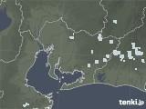 2020年06月07日の愛知県の雨雲レーダー