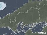 2020年06月07日の広島県の雨雲レーダー