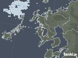 2020年06月07日の長崎県の雨雲レーダー