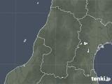 2020年06月07日の山形県の雨雲レーダー