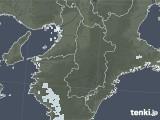 2020年06月08日の奈良県の雨雲レーダー
