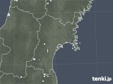 2020年06月08日の宮城県の雨雲レーダー