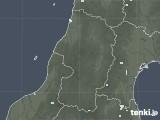 2020年06月08日の山形県の雨雲レーダー