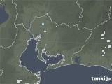2020年06月09日の愛知県の雨雲レーダー
