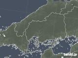 2020年06月09日の広島県の雨雲レーダー