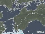 2020年06月09日の愛媛県の雨雲レーダー