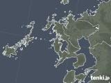 2020年06月09日の長崎県の雨雲レーダー