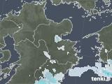 2020年06月09日の大分県の雨雲レーダー