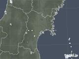 2020年06月09日の宮城県の雨雲レーダー