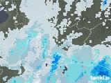 2020年06月10日の愛知県の雨雲レーダー